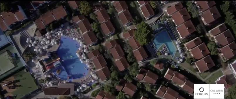Vídeo con dron en hoteles